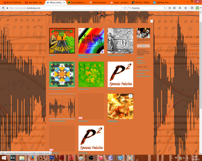 My current bandcamp click picture to download your favs before before Feb 15th