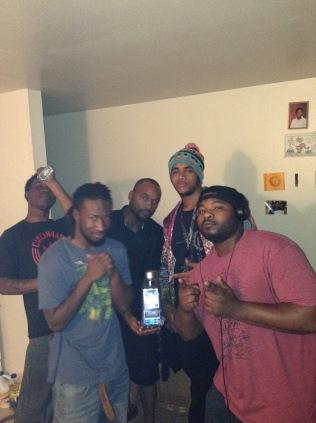(Left to Right) Mike, Dre, Quan, Qais, Kash